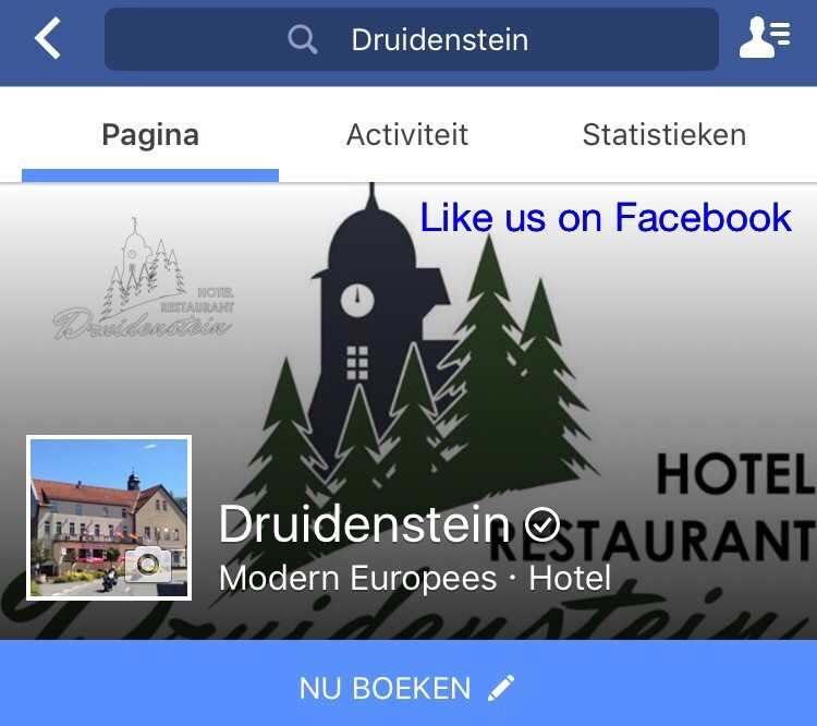 Like us on Facebook, klik hier